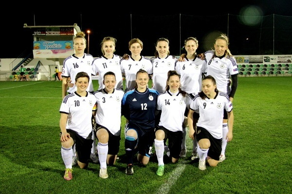 Germany Women U-17 prepares World Cup